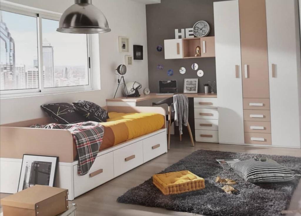 dormitorio juvenil Navarra