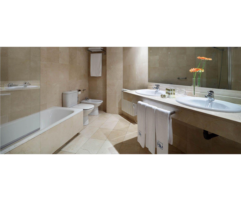 Modernos baños en mármol