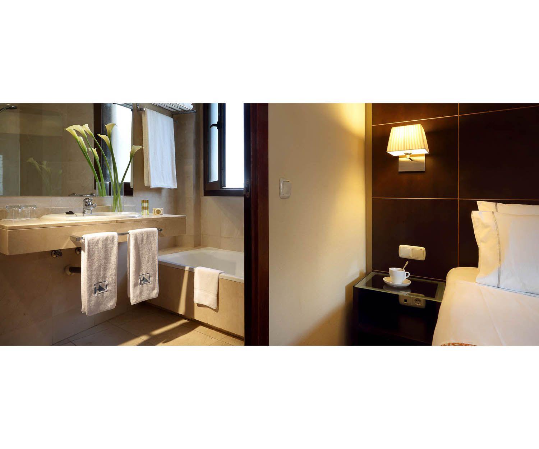 Elegantes y modernos baños en mármol en todas las habitaciones