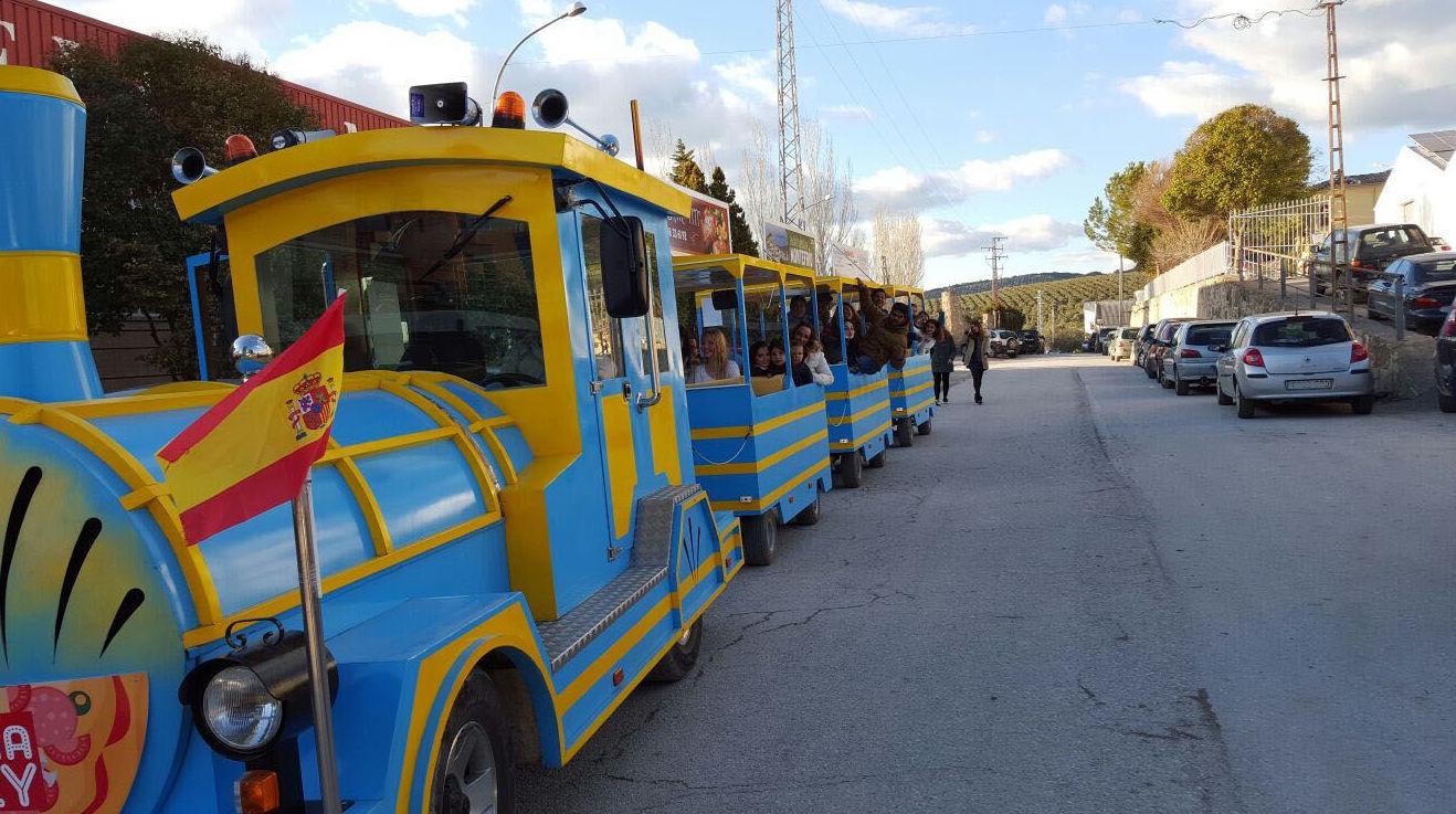 Tren turístico en Montefrío