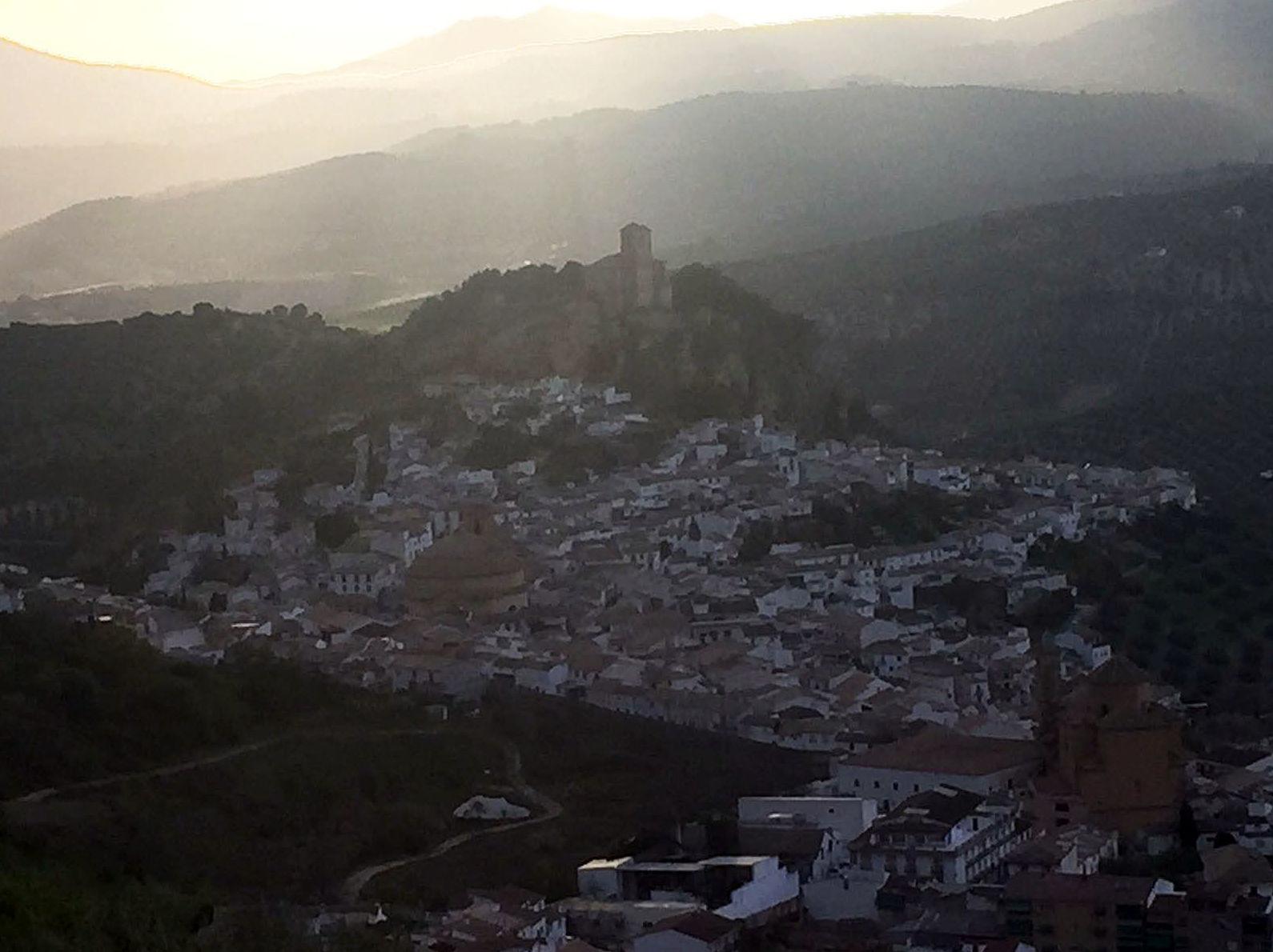 Vista de Montefrío, Granada