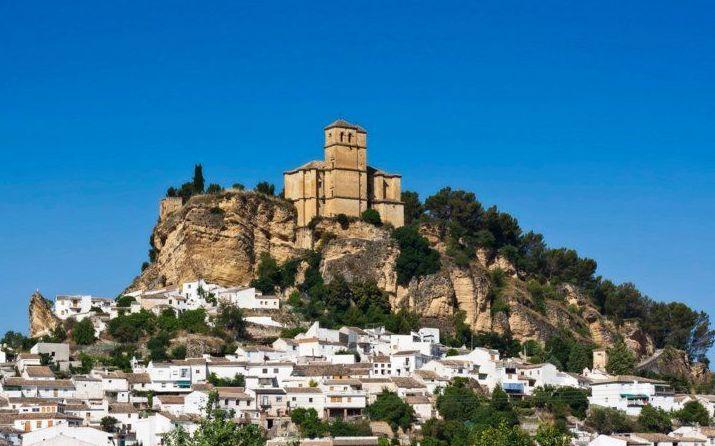 Castillo de la Villa: Rutas de Ruta turística Montefrío