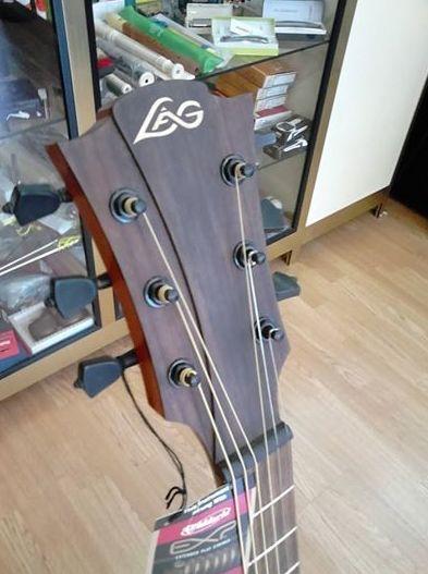 LAG, la marca estrella en fabricación de guitarra española