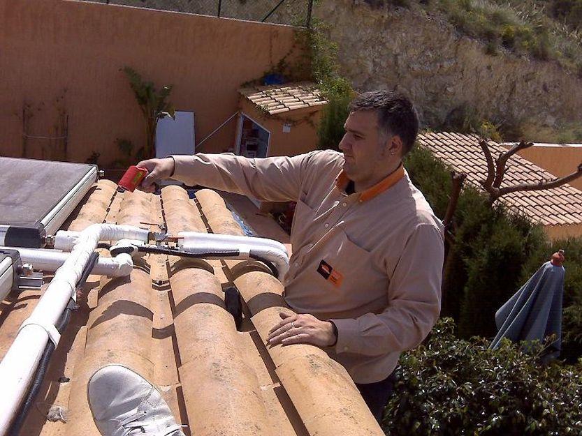 Mantenimiento de instalaciones de energía solar térmica en Alicante