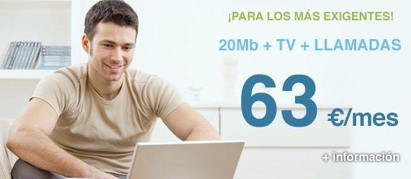 Ofertas internet con television Murcia