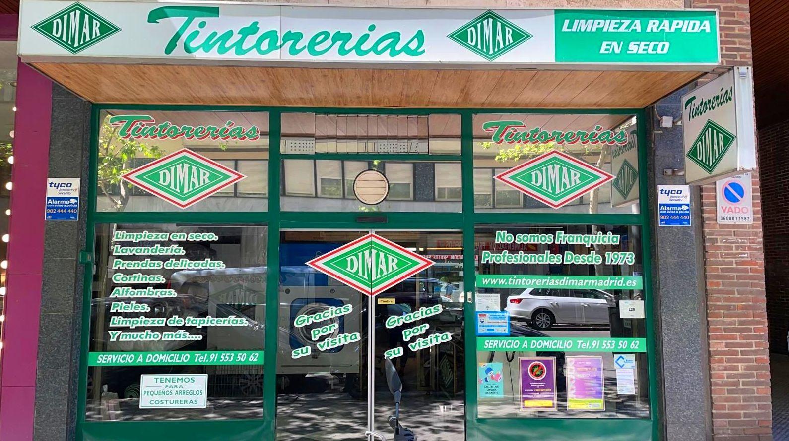 Foto 12 de Tintorerías en Madrid | Tintorerías Dimar