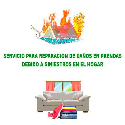 SERVICIO PARA SINIESTROS EN EL HOGAR: Servicios de Tintorerías Dimar