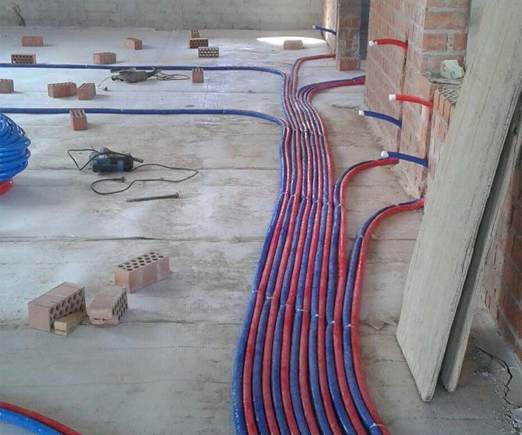 Instalación de suelo radiante en Badajoz