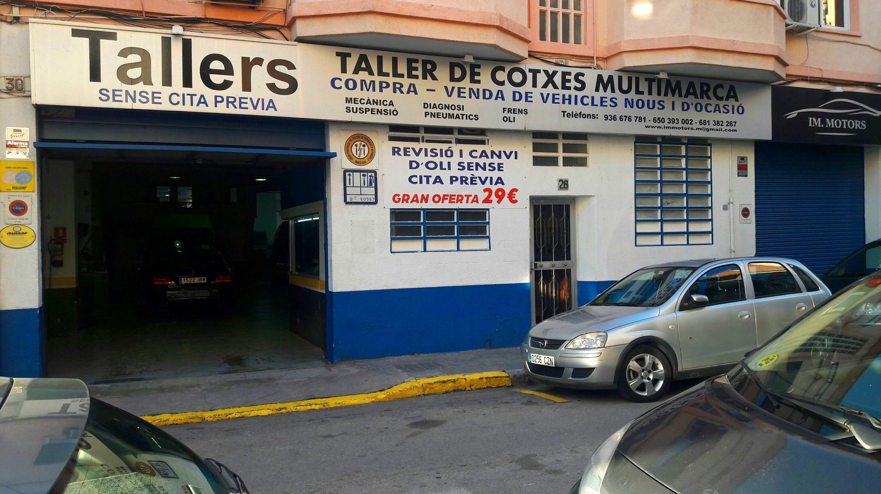 Foto 26 de Talleres de automóviles en La Llagosta | IM Motors
