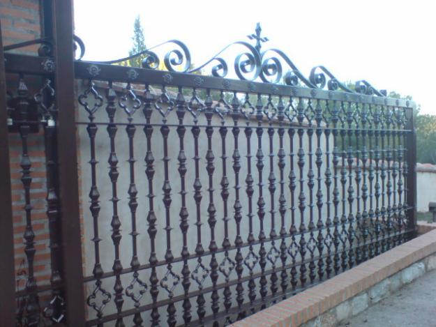 Rejas de hierro nuestros servicios de pascual y galar - Rejas de hierro para puertas ...