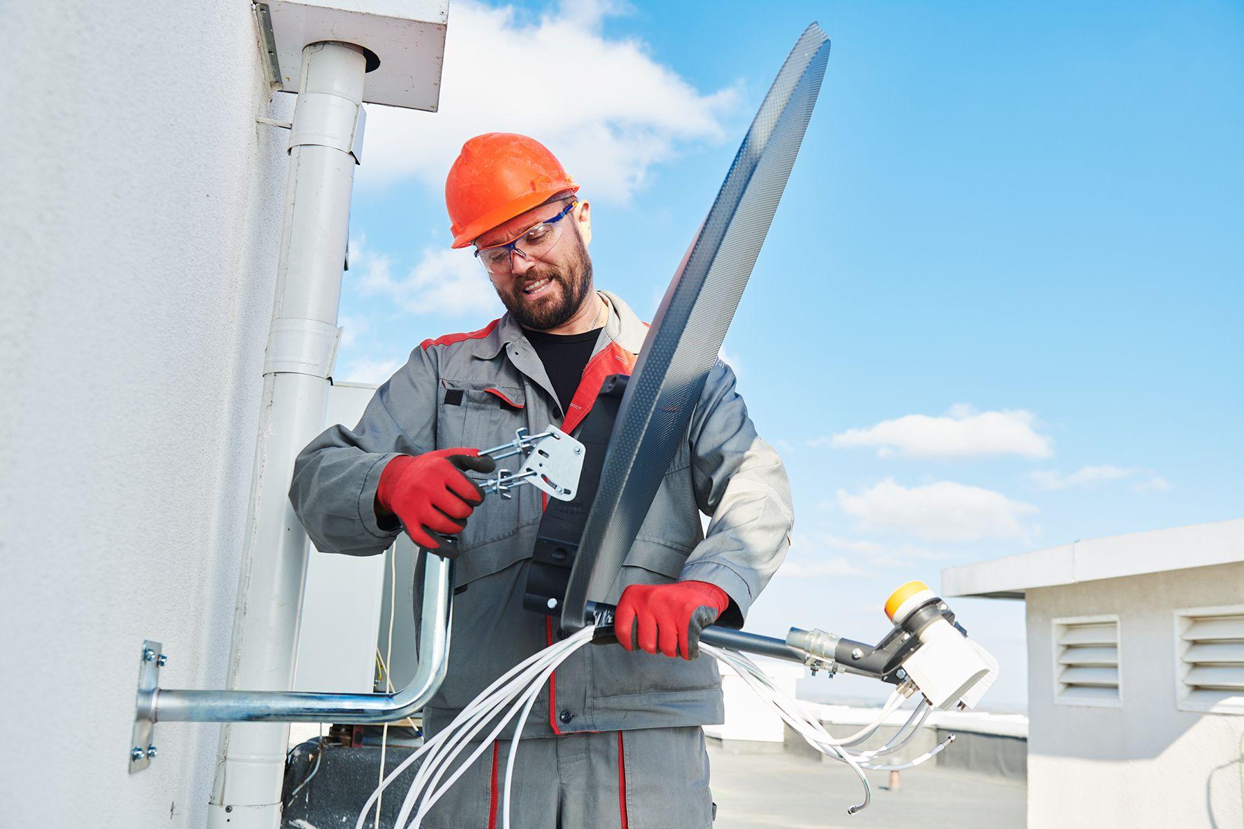 Reparación antenas parabólicas Barcelona