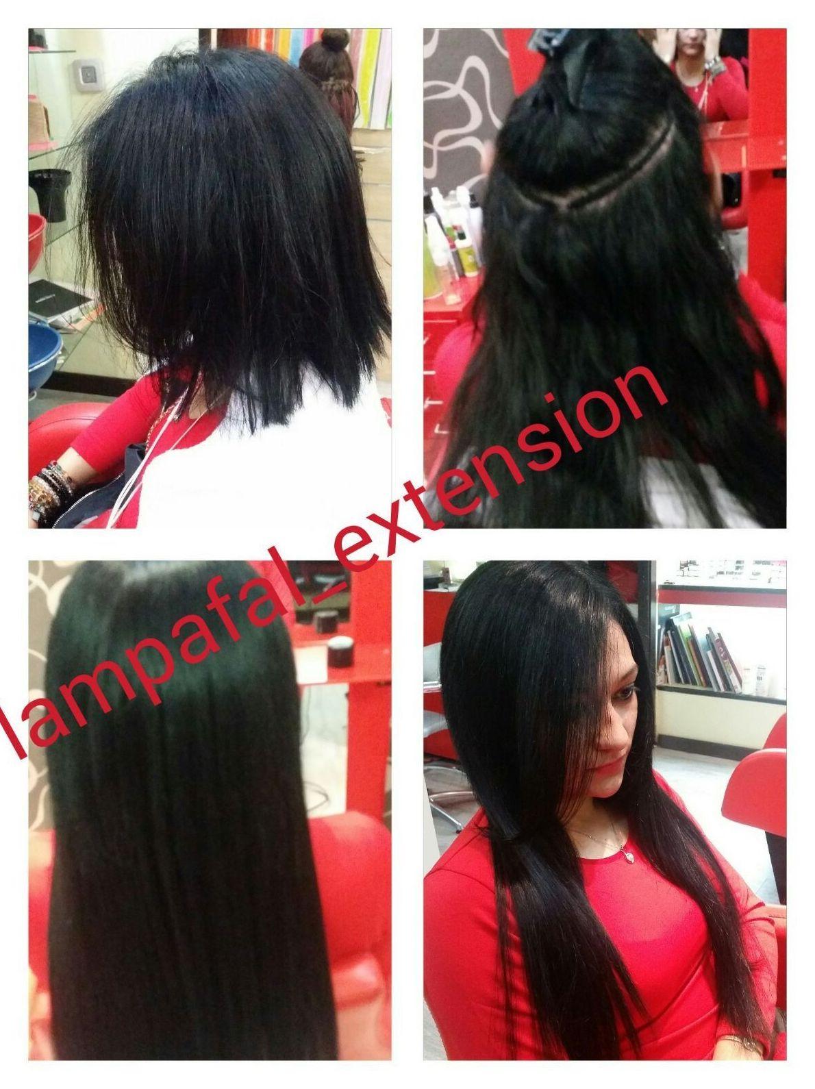 Posibilidades de peinados con extensiones