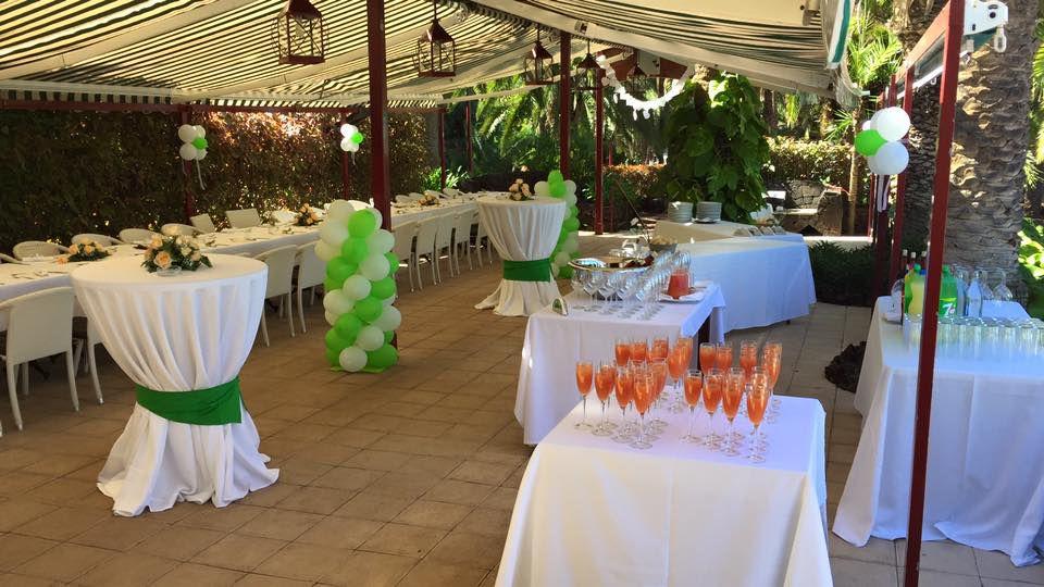 Restaurante para celebración de bodas en Puerto de la Cruz