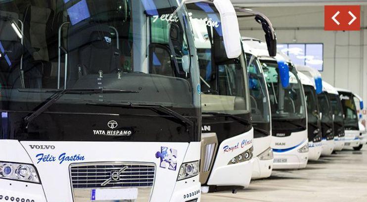 Flota: Servicios de Autocares Félix Gastón