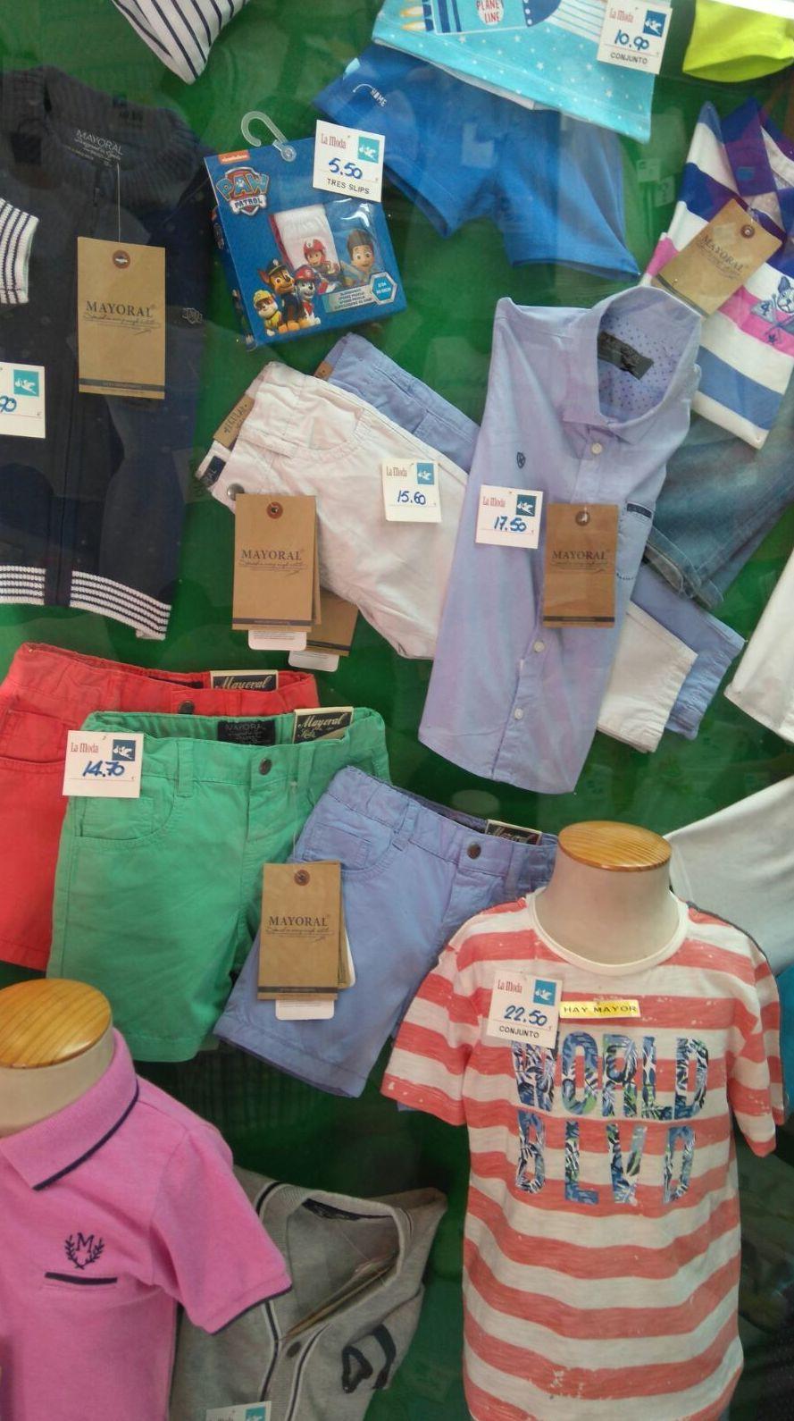 ropa de niño en madrid