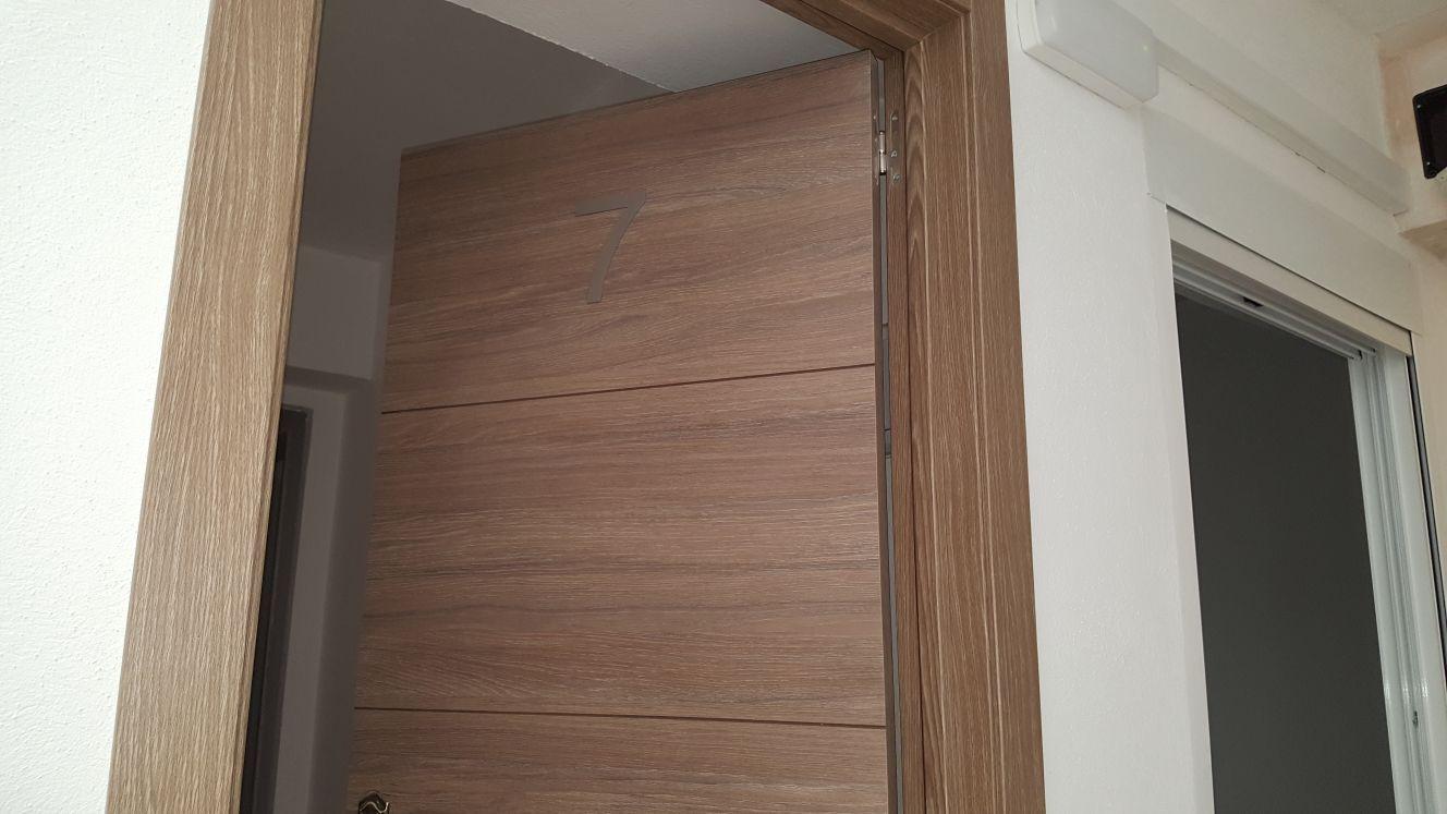 Puertas de madera en Huelva