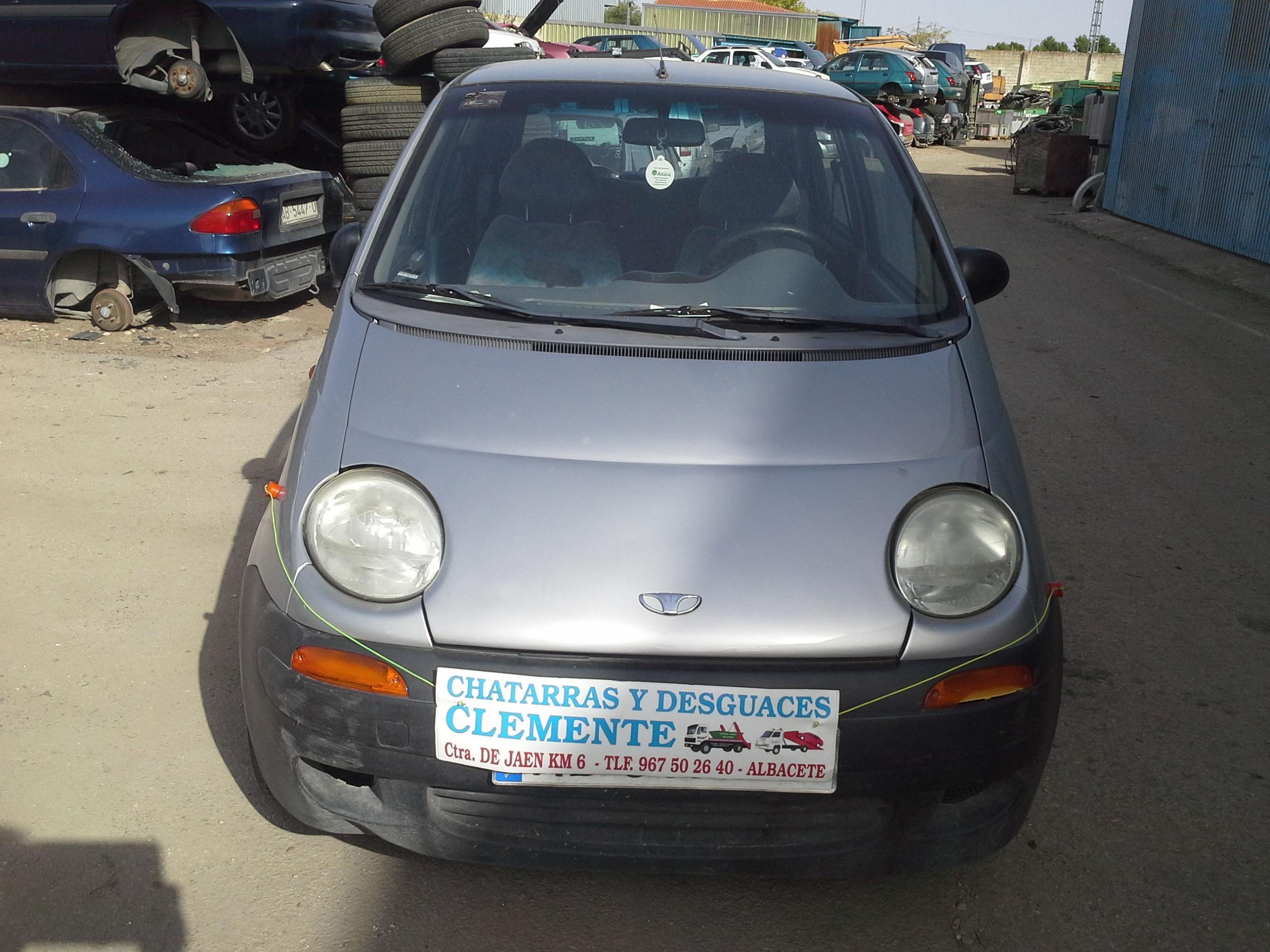 Daewoo Matiz para venta de piezas en Desguaces Clemente de Albacete