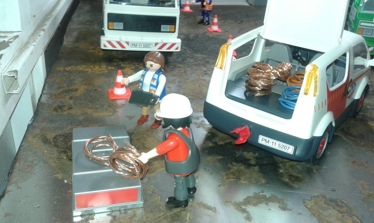 Playmobil. Compra de cobre en Chatarras Clemente de Albacete de Albacete