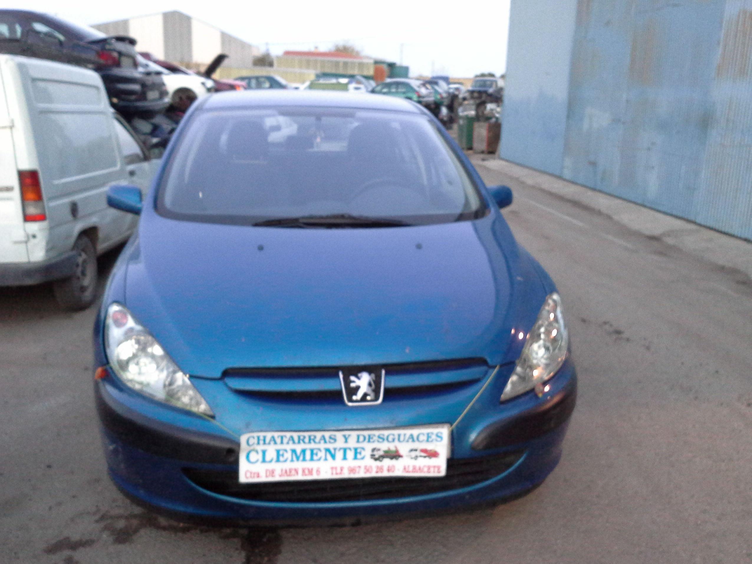 Peugeot 307 para desguace en Desguaces Clemente de Albacete