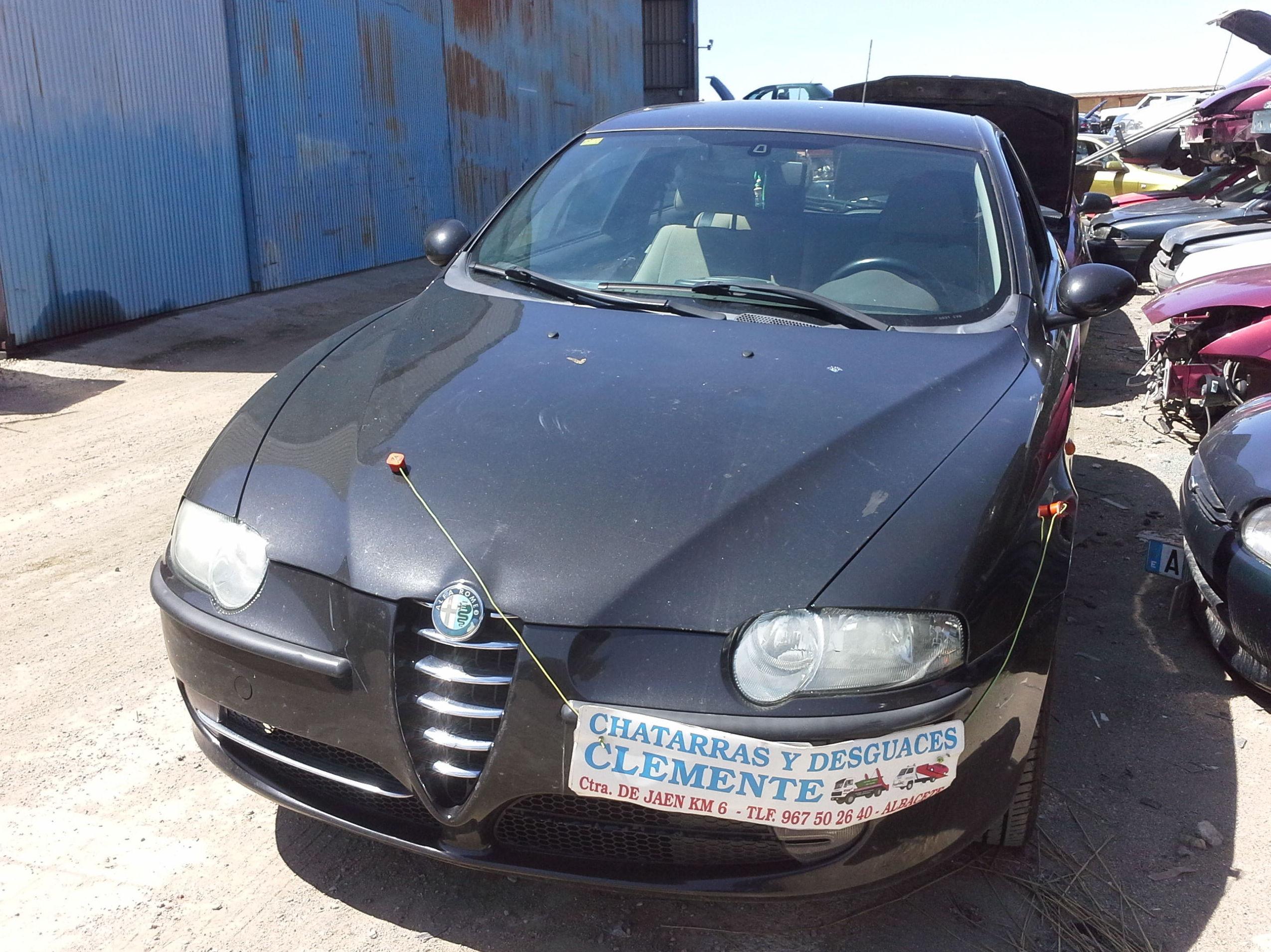 Alfa 147 año 2004 para desguace en desguaces clemente de albacete