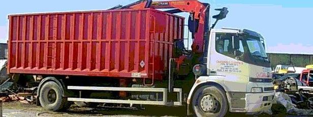 camion grua para carga de chatarra clemente en albacete