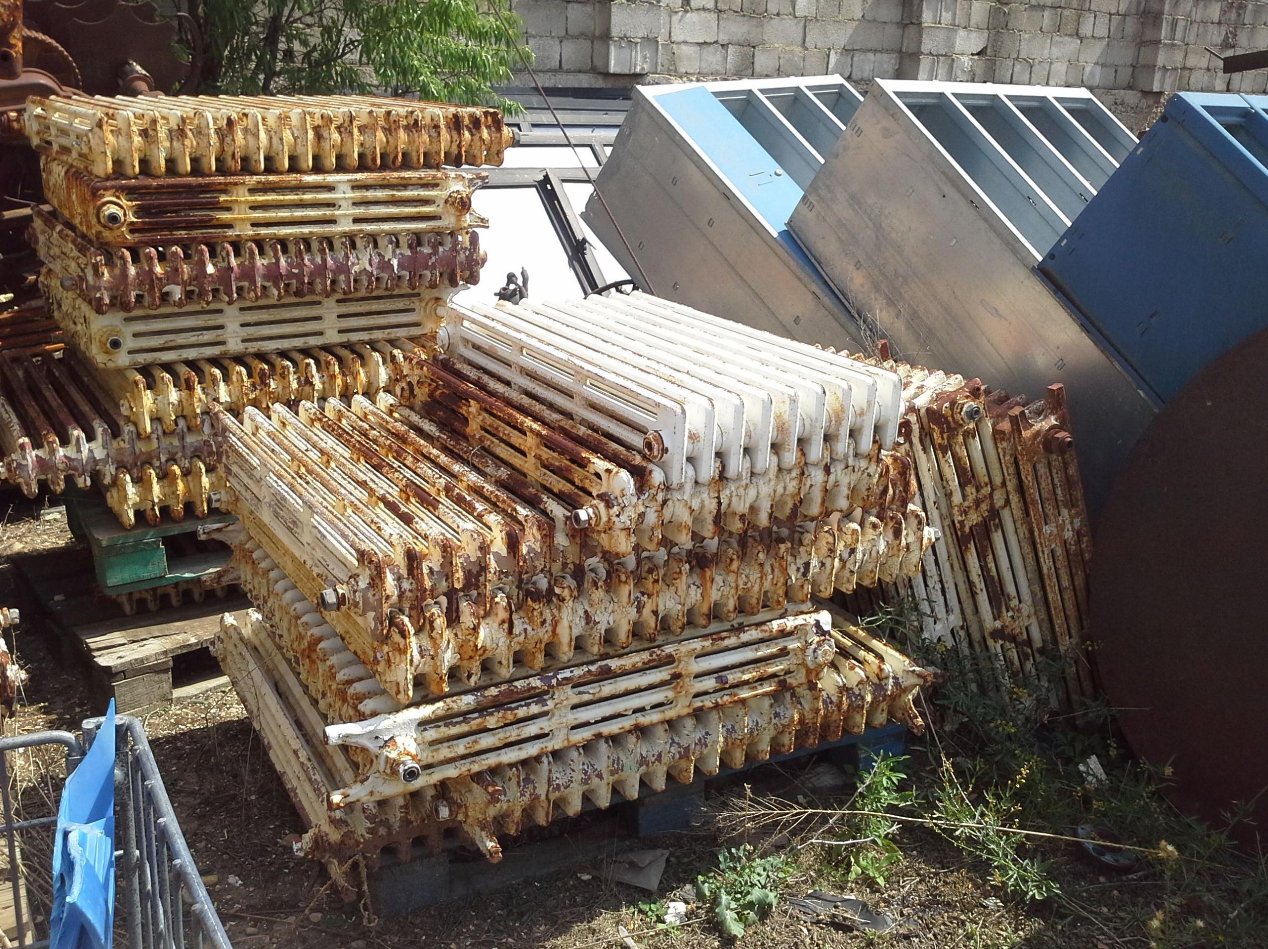 Radiadores de hierro fundido cat logo de desguaces y - Radiadores de hierro fundido ...