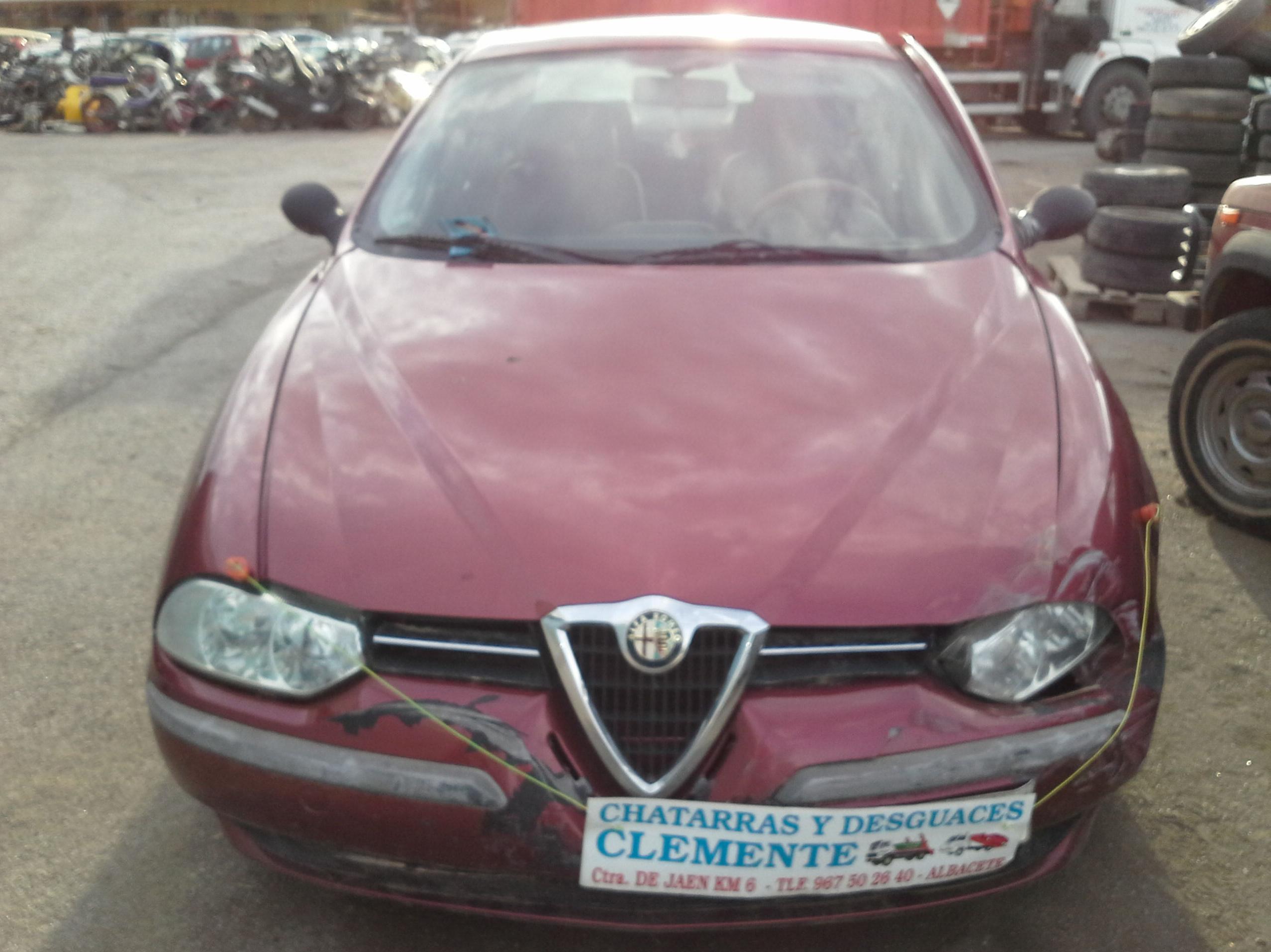 Alfa 156 para desguace en albacete. Desguaces Clemente