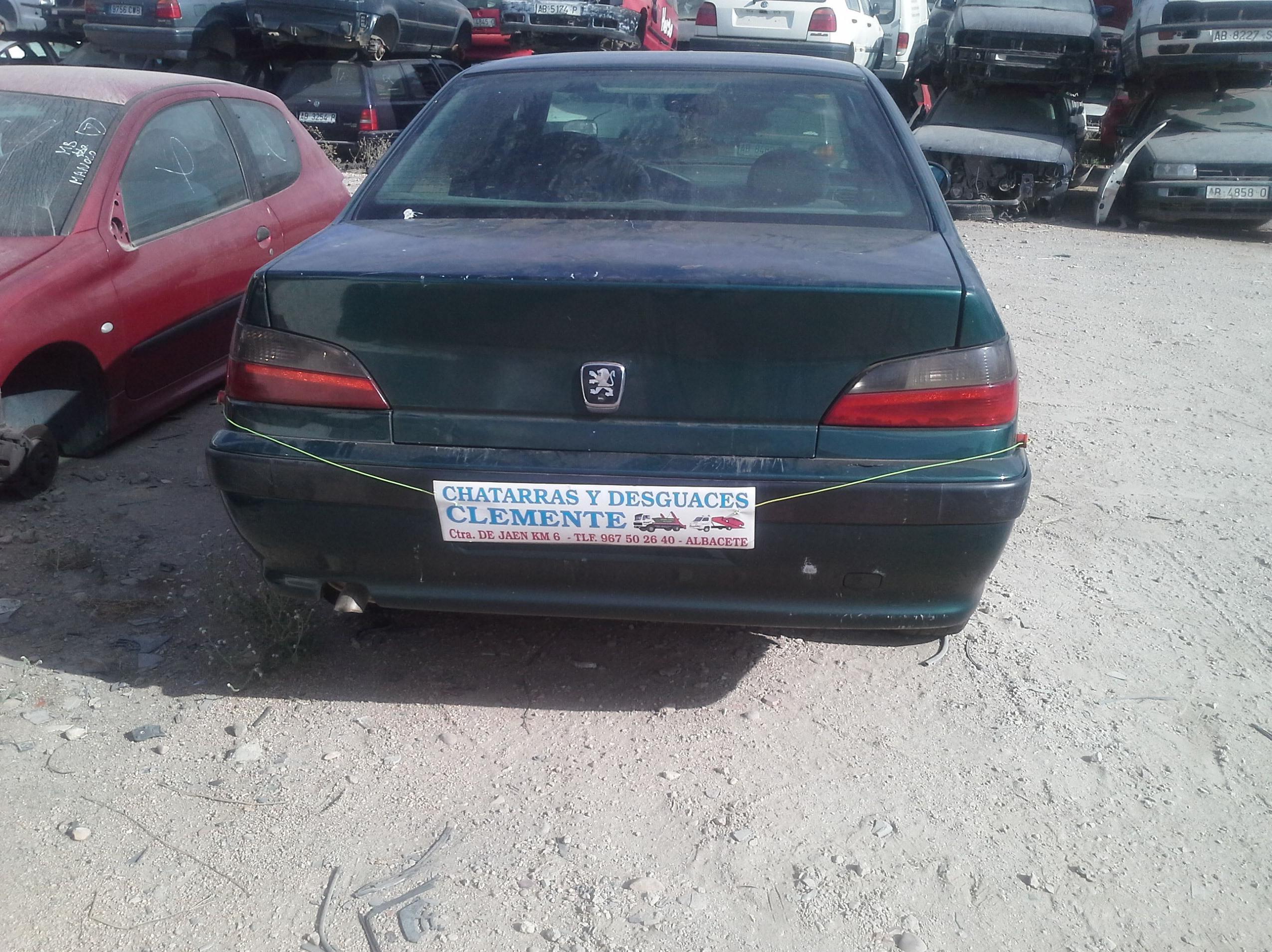 Peugeot 406 en desguaces Clemente de Albacete