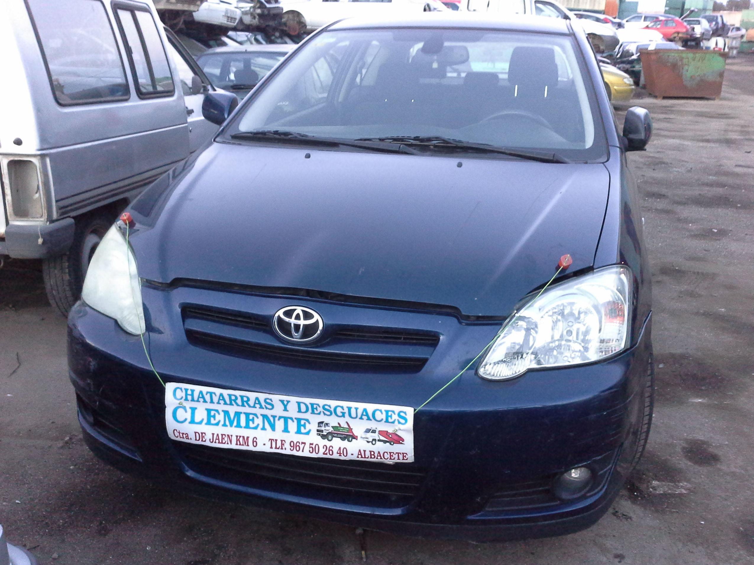 Toyota Corolla 2005 para desguace en Albacete en Desguaces Clemente