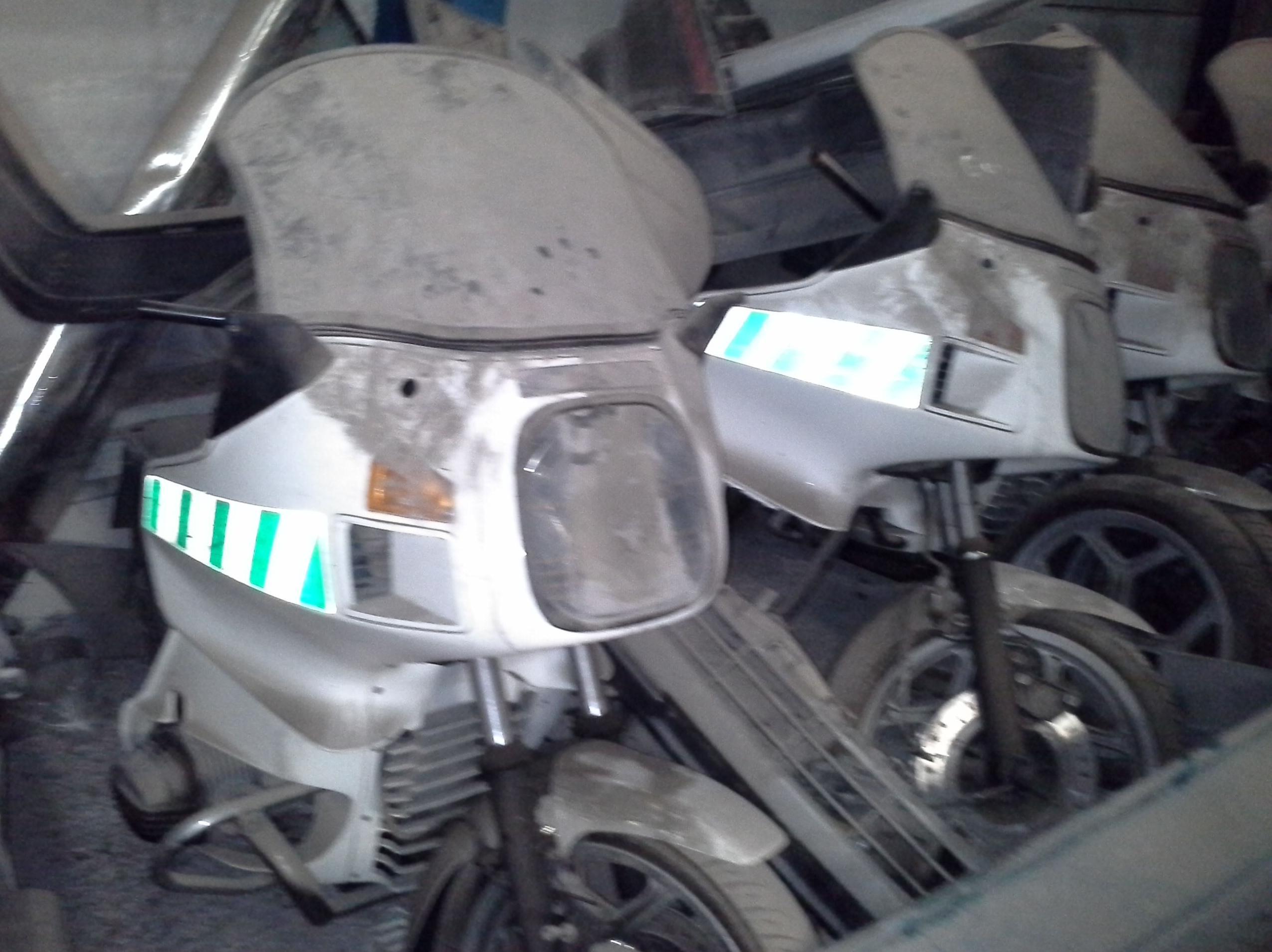 motos para desguace en chatarras clemente