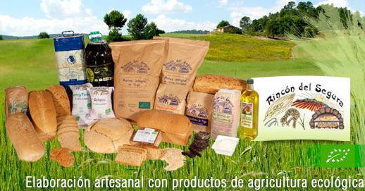 PANADERIA RINCON DEL SEGURA, Pan de espelta, trigo, centeno, trigo/centeno,: Catálogo de La Despensa Ecológica