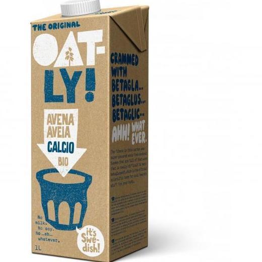 Bebida de avena calcio, OATLY: Catálogo de La Despensa Ecológica