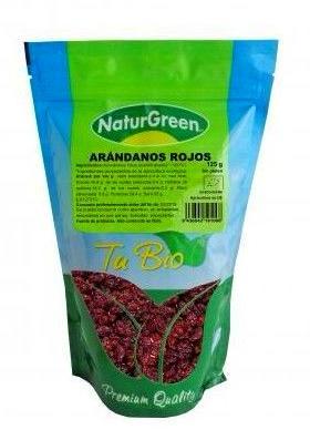 NATURGREEN, Arandanos rojos deshidratados: Catálogo de La Despensa Ecológica