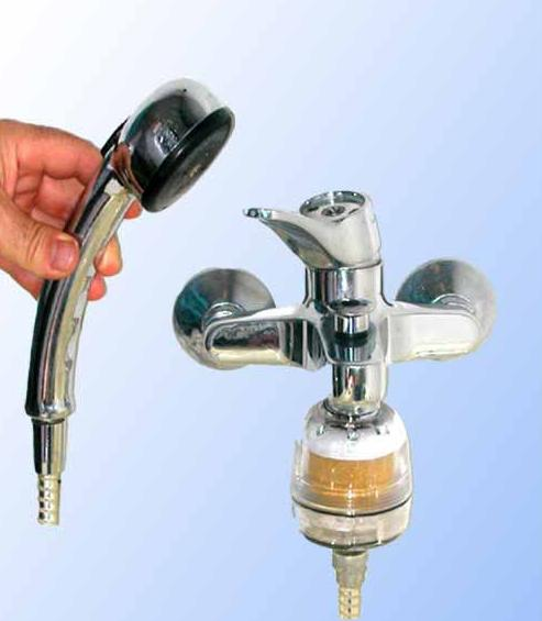 AGUA, TRATAMIENTO NATURAL DEL AGUA, Filtro de ducha: Catálogo de La Despensa Ecológica