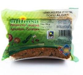 Ahimsa; Tofu algas, Filete vegetal, Choped vegetal: Catálogo de La Despensa Ecológica