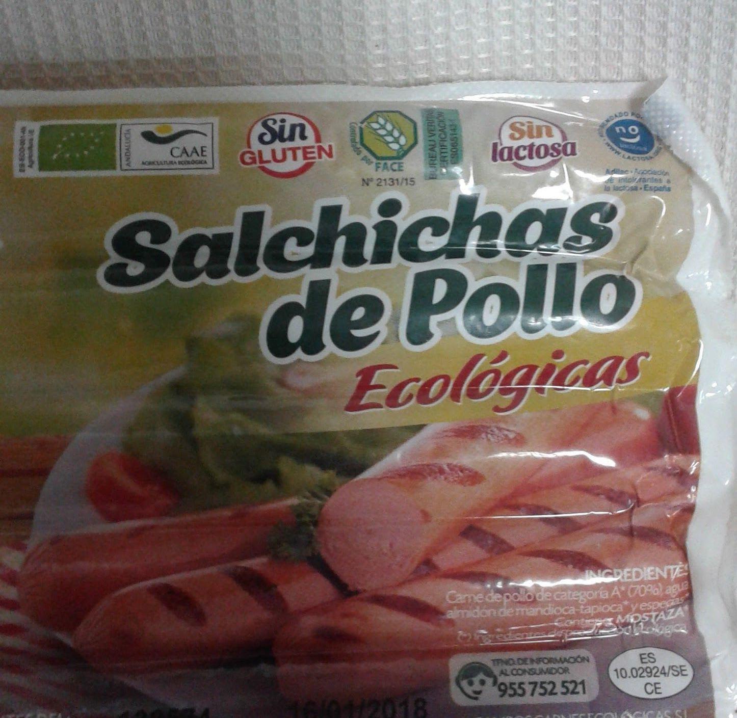 SALCHICHAS DE POLLO: Catálogo de La Despensa Ecológica