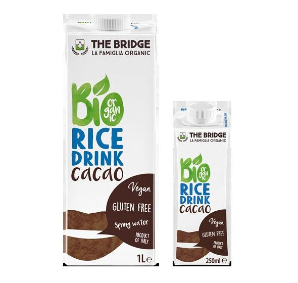 Bebida vegetal de arroz con chocolate, THE BRIGDE: Catálogo de La Despensa Ecológica