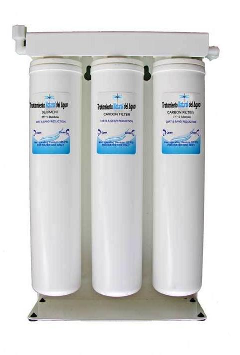 AGUA TRATAMIENTO NATURAL DEL AGUA, Filtro potabilizador ecológico: Catálogo de La Despensa Ecológica