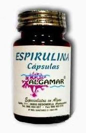 Espirulina en capsulas, ALGAMAR.: Catálogo de La Despensa Ecológica