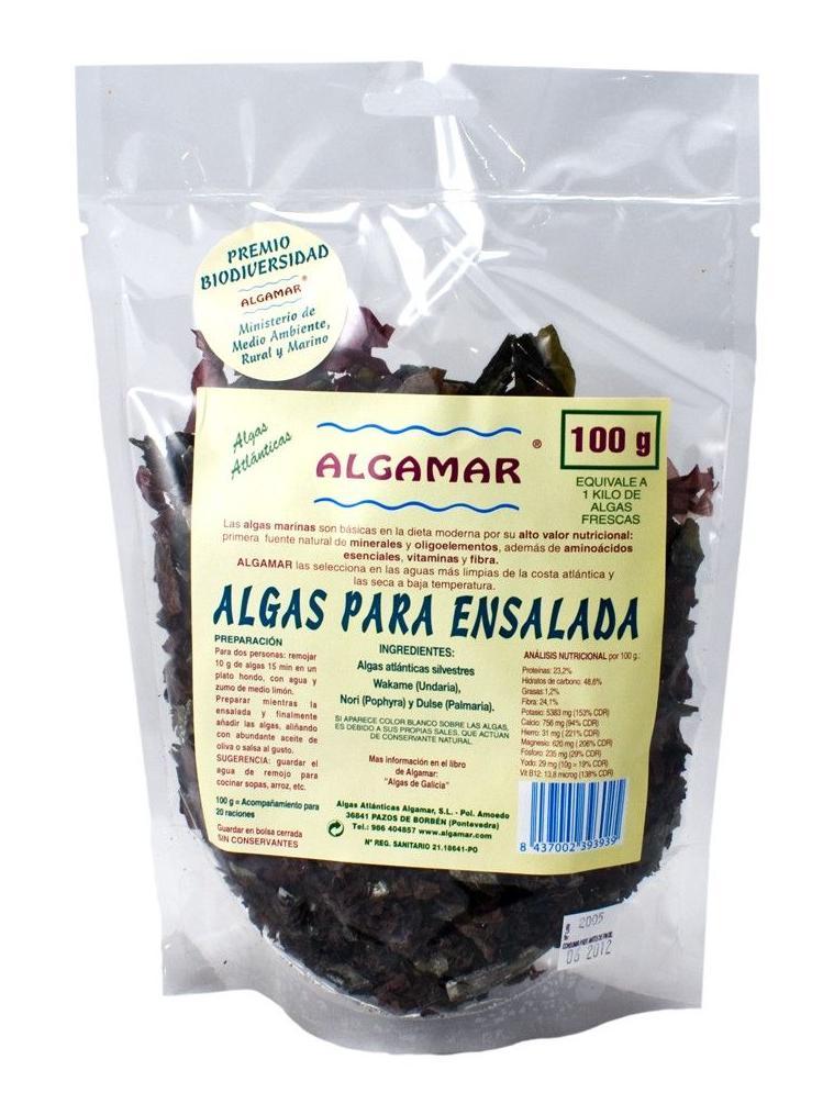 ALGAS  kombu, Dulse, Espagueti de mar, Agar Agar, Wakame, Nori , ALGAMAR: Catálogo de La Despensa Ecológica
