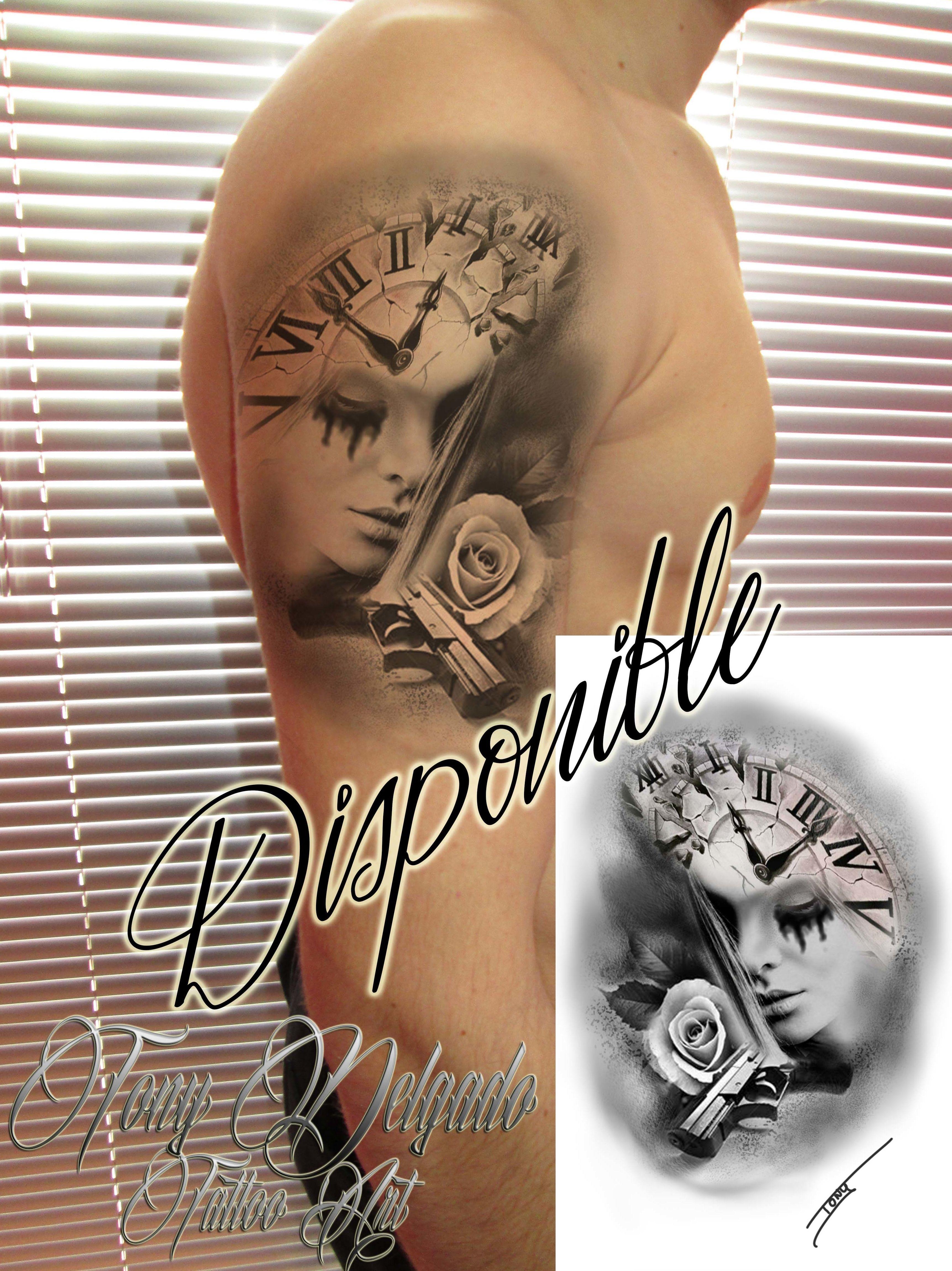 Foto 9 de Tatuajes en    Tony Delgado Tattoo Art