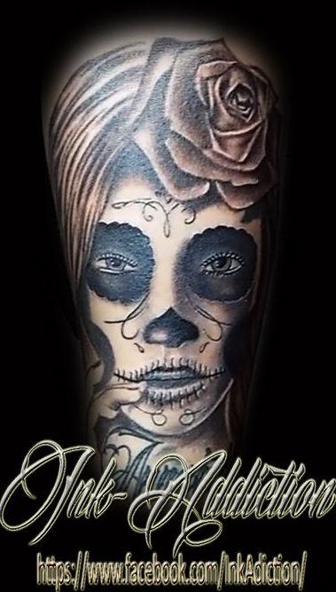 Tatuaje chicano: Tatuajes de Tony Delgado Tattoo Art