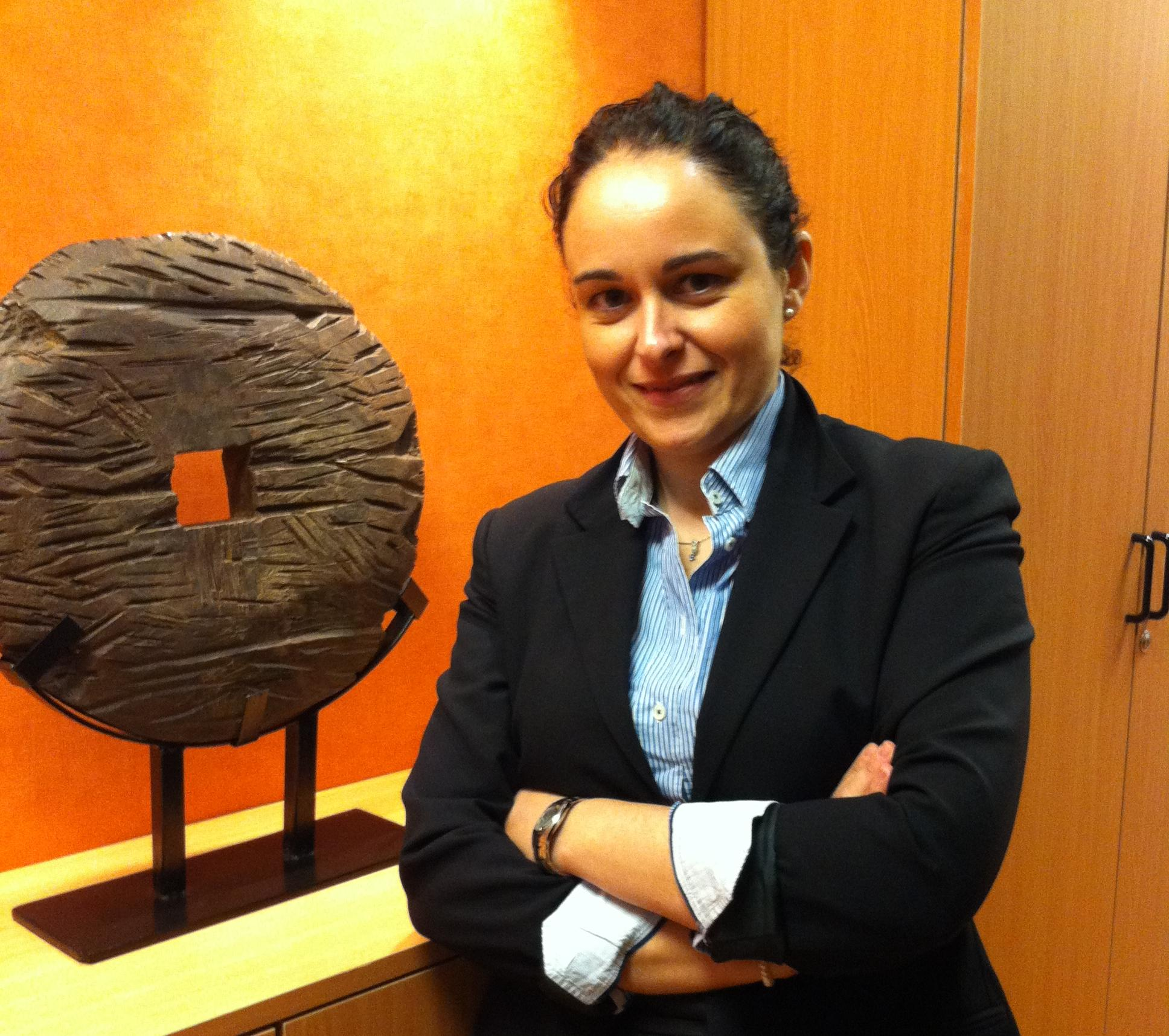 Mª Cruz Rodríguez, Gerente de Grup2