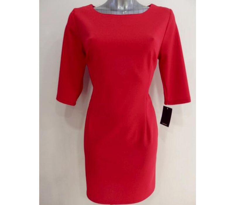 Vestido rojo báscio