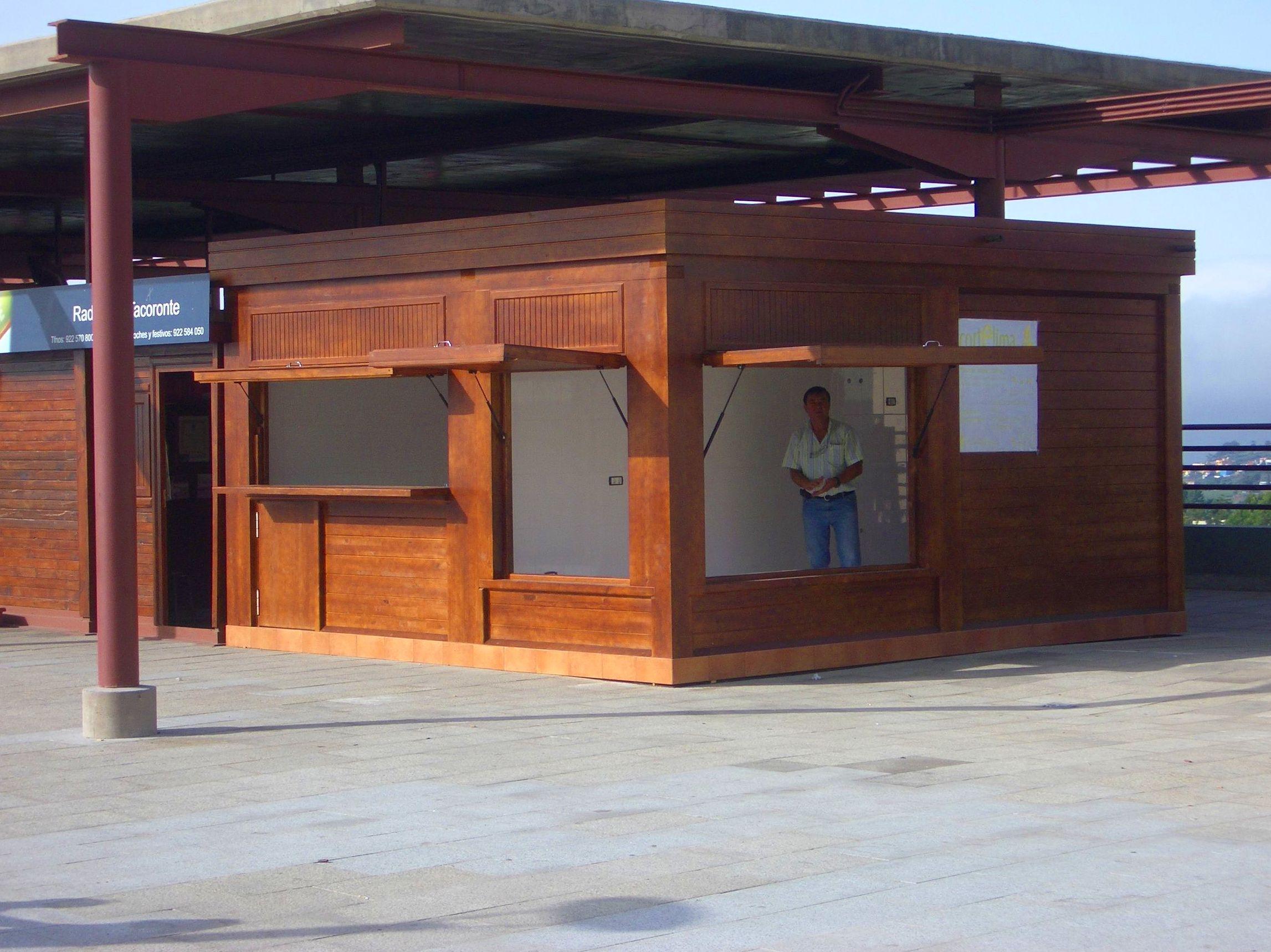 Kiosko Madera Cortelima Tacoronte Tenerife