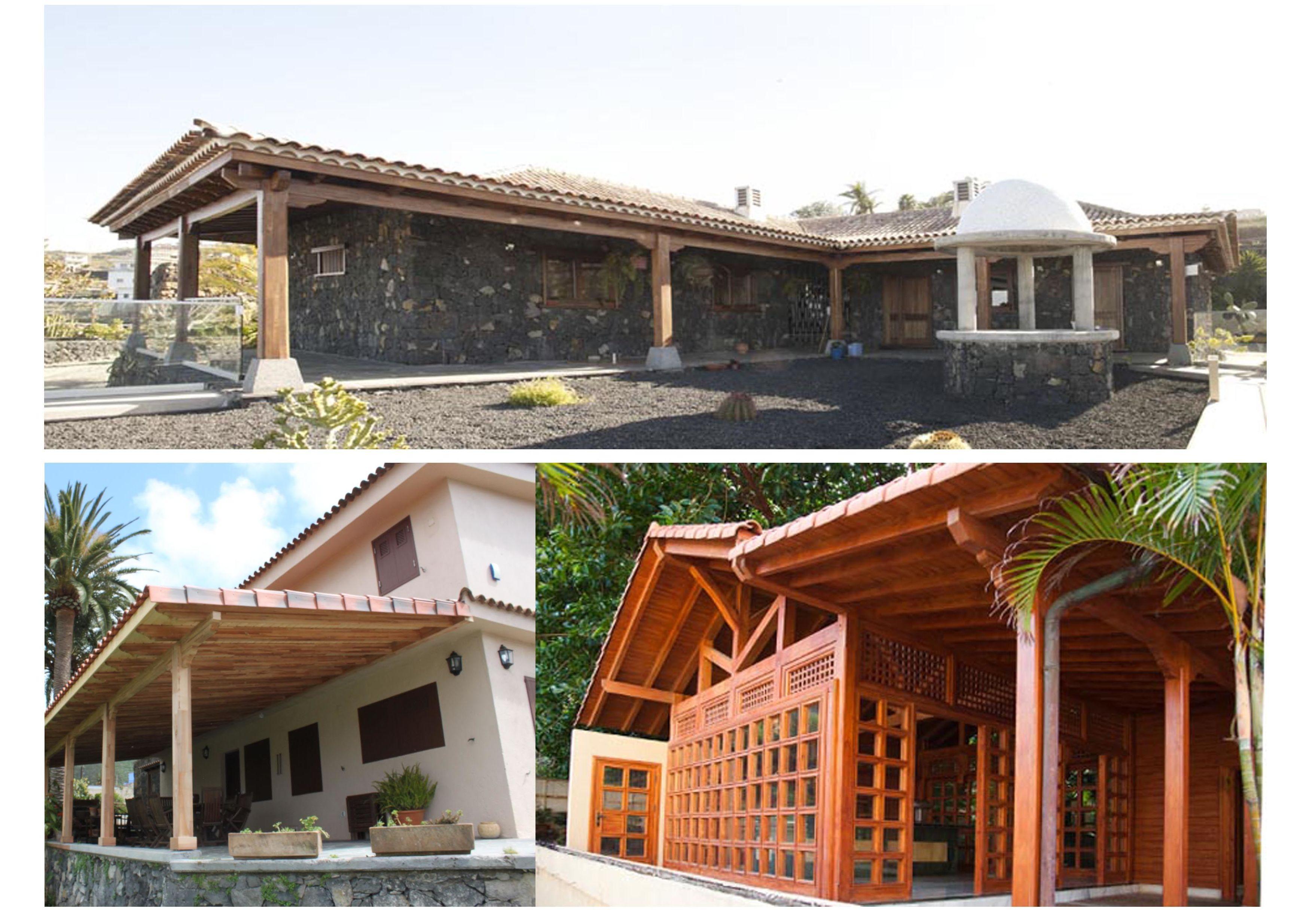 Beste Holzhäuser , Pergolen, Holzkonstruktionen und Teneriffa.