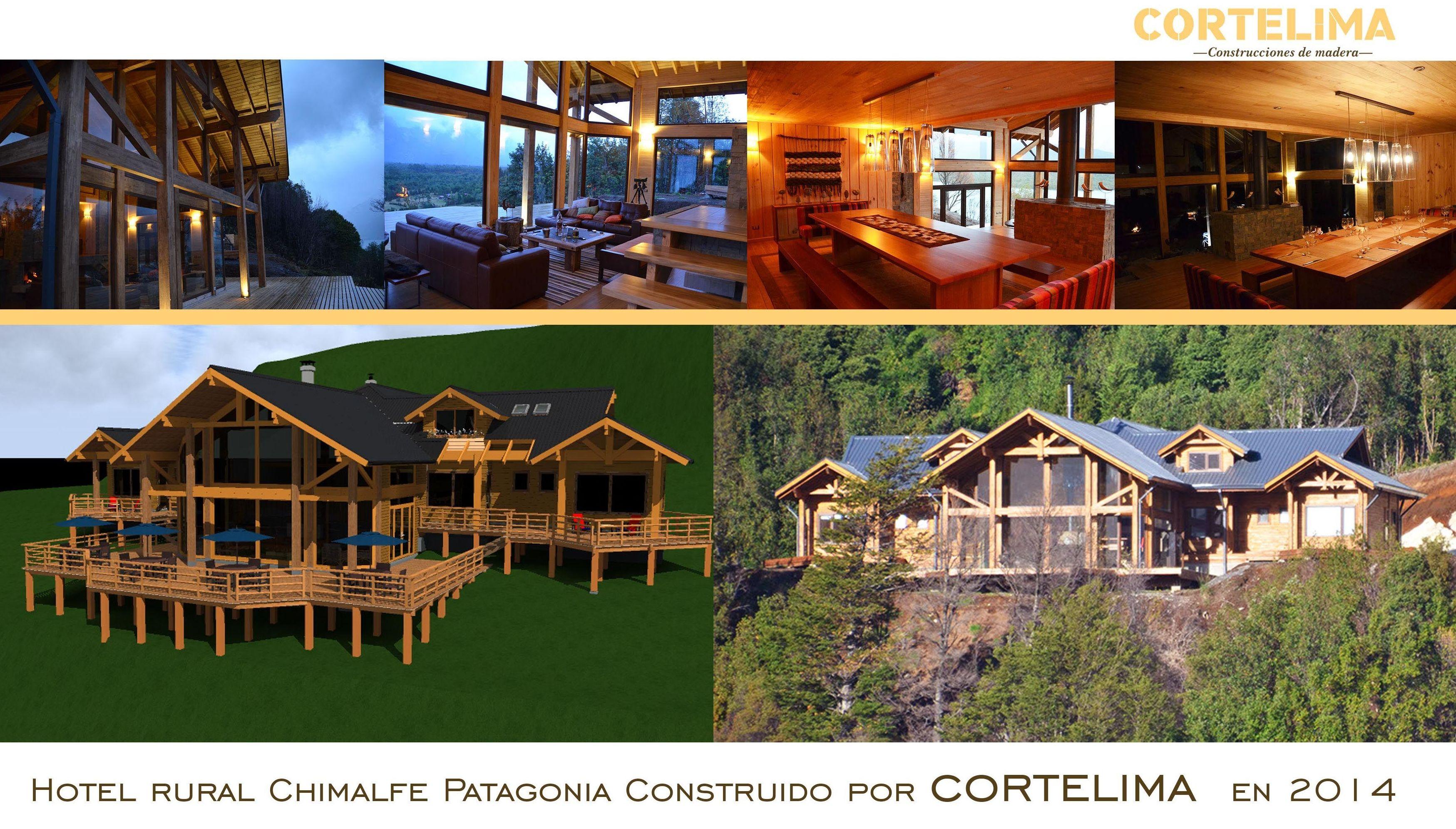 Hotel de Madera Construido por Cortelima