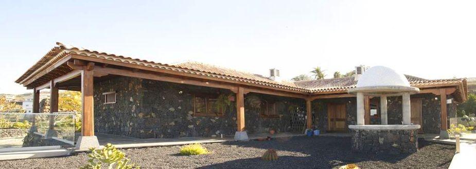 Cubierta de Madera y Porches CORTELIMA  -   El SAUZAL- TENERIFE