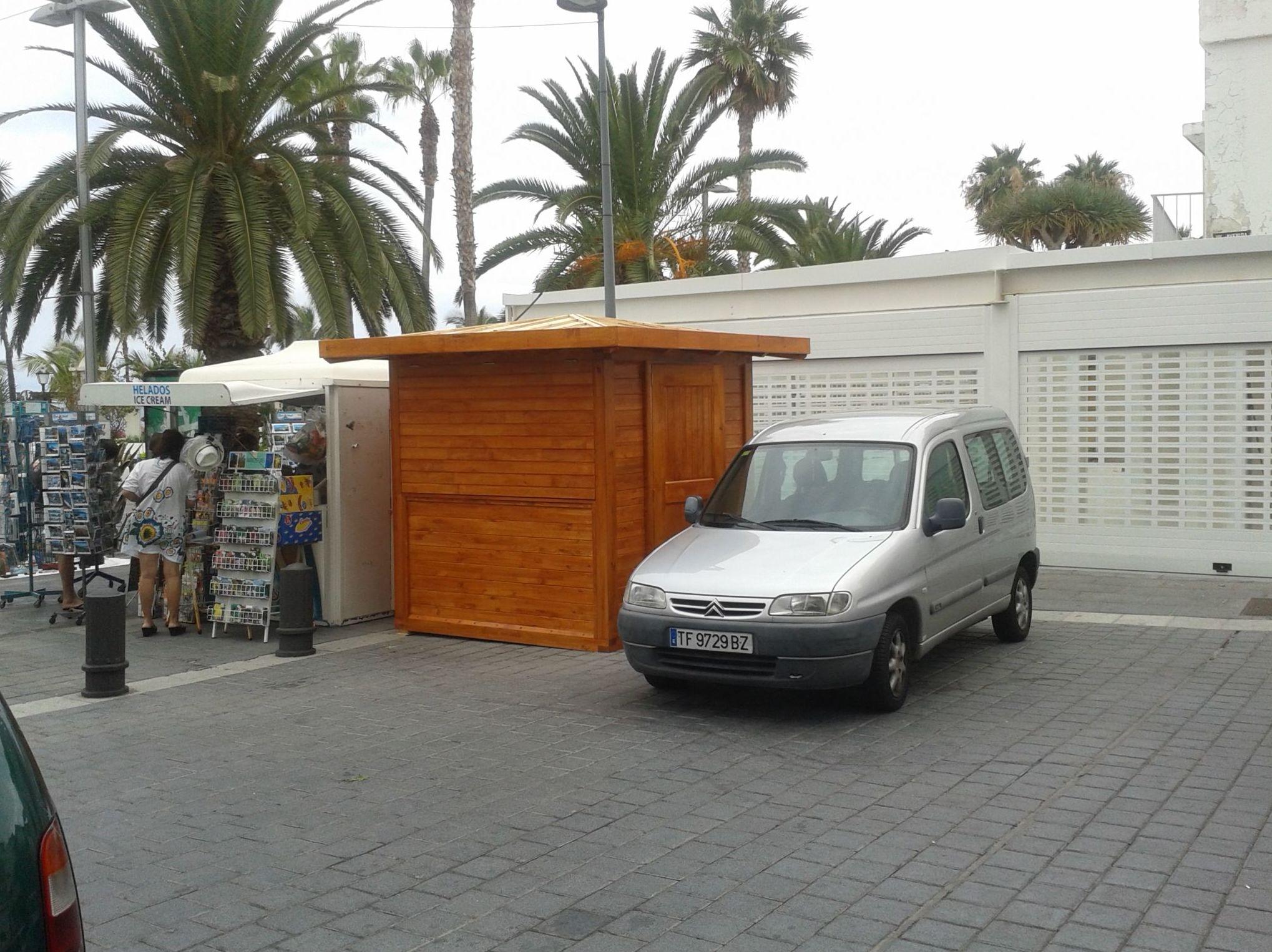 Fabricacion de kioscos de madera