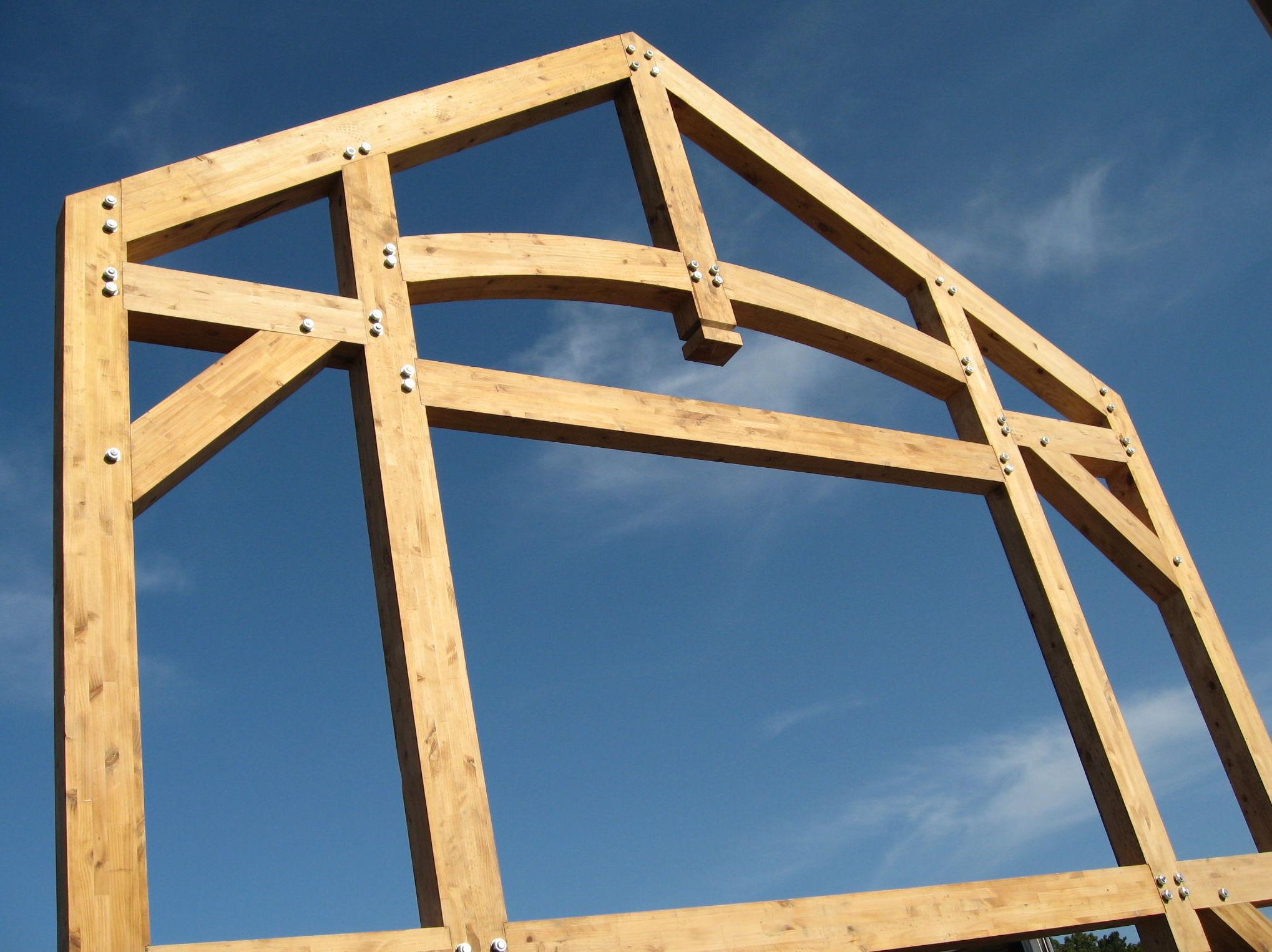 estructuras madera laminada hoteles